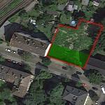 Satellitenfoto des Grundstücks